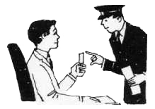 showing-him-the-ticket